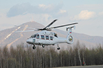 29.04.2016 First prototype of the multirole Ka-62 helicopter takes to the air